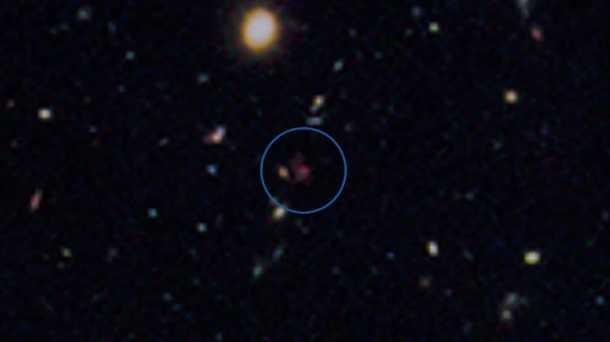 Zahlen bitte! hubble weltraumteleskop blickt 13 4 milliarden