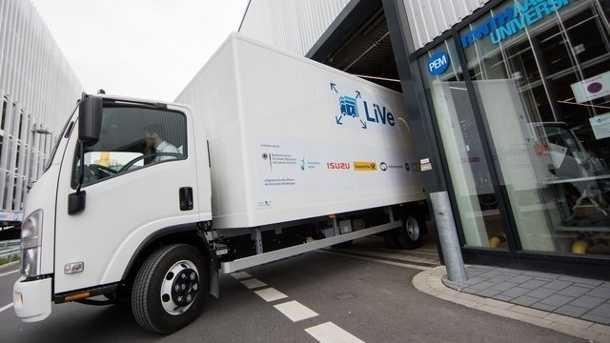 Elektro-Lastwagen: Wissenschaftler stellen Prototyp für elektrischen Lkw vor