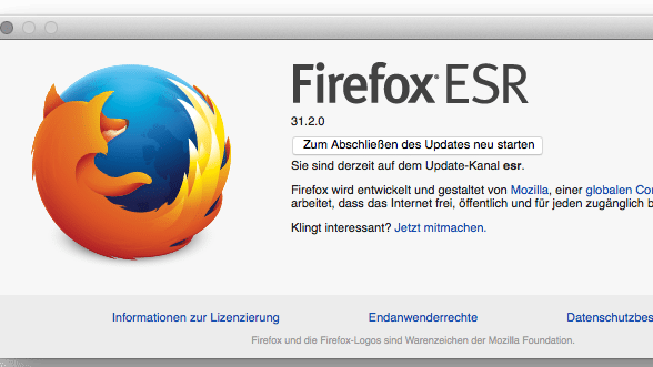 OS X Yosemite protokolliert Eingaben in Firefox und Thunderbird