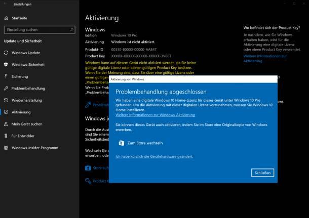 registrierung windows 10