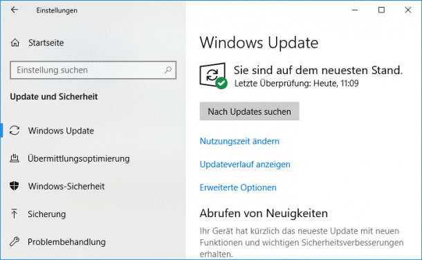 Windows-Update: Windows 10 Version 1809 allgemein freigegeben