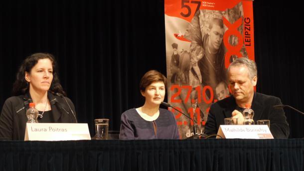 Edward Snowden ehrt Leipziger Montagsdemonstranten