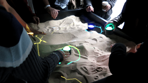 Sand Noise Device