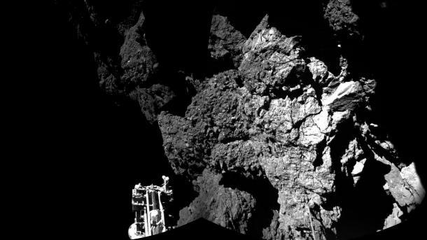 ESA-Mission Rosetta: Philae bohrt Kometen an