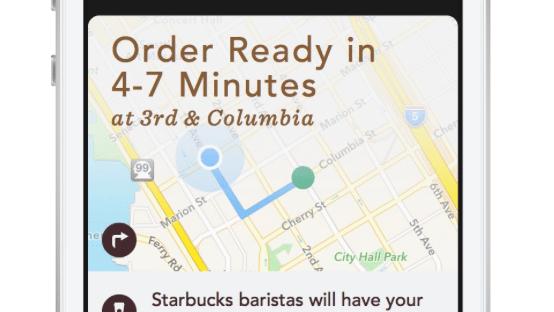 Starbucks: Kaffee-Bestellung und Vorausbezahlung per iPhone-App