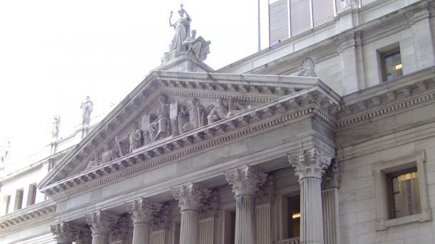 Das Gerichtsgebäude in New York City