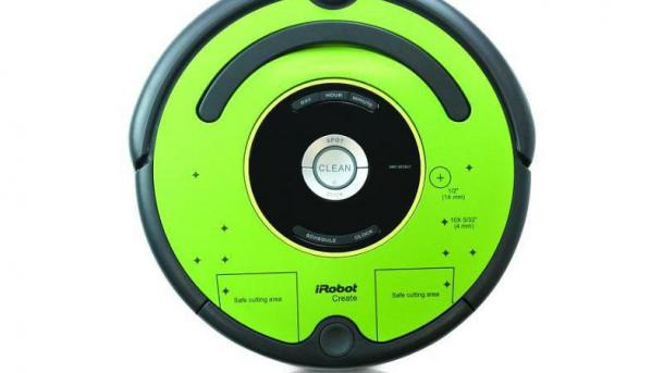 Create 2: Programmierbarer Staubsauger-Roboter Roomba für Hacker