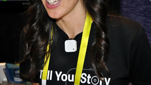 CES: Lifelogging-Kamera Narrative bekommt besseren Sensor und Funktechnik