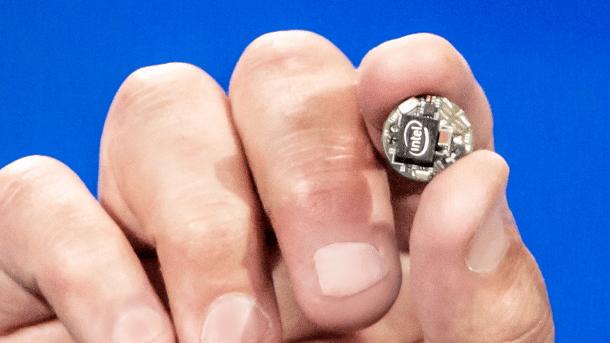 CES: Intel stellt Entwicklermodul Curie für Wearables vor