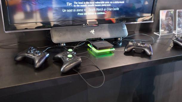 CES: Razer bringt streamingtaugliche Android-Spielkonsole