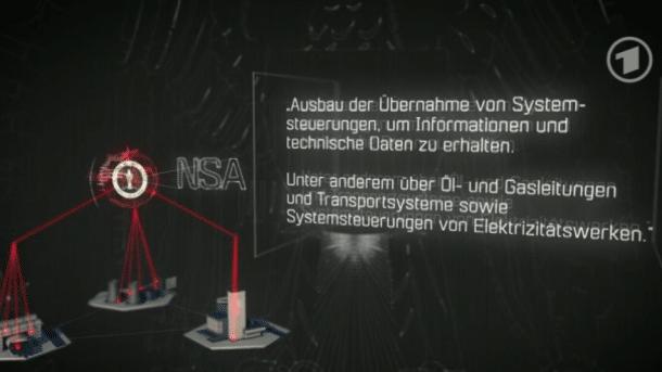 ARD-Doku mit Snowden: Der Cyberkrieg hat begonnen