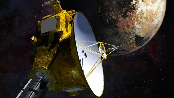 NASA-Raumsonde New Horizons beginnt Anflug auf Pluto