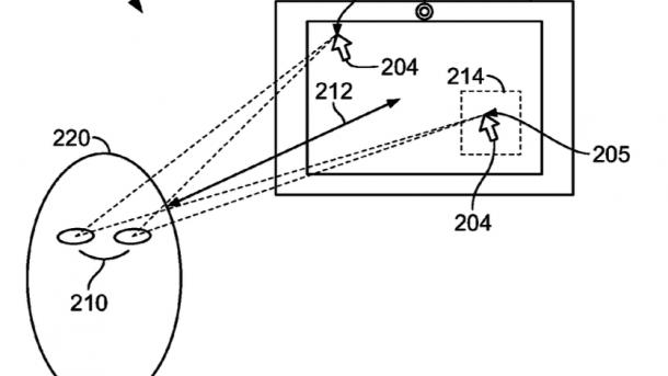 Apple erhält Patent auf Eye-Tracking-Technik