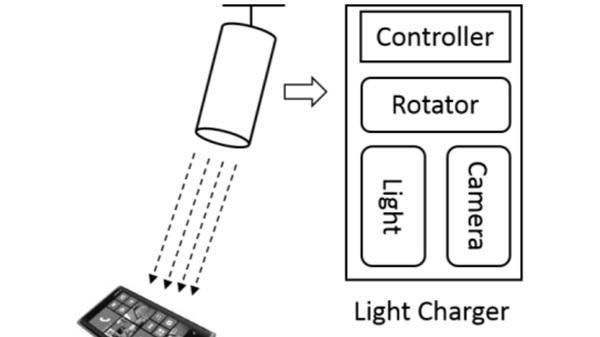Microsoft-Lampe lädt Smartphones auf