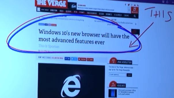 """""""Project Spartan"""": Der Windows-10-Browser mit Assistentin"""