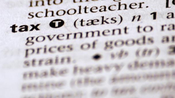 """tax"" im Wörterbuch"