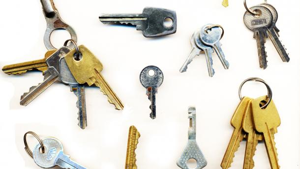 Neue Schlüssel für SSH-Server