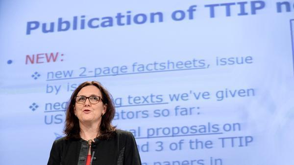 """EU-Kommissarin: Bei Datenaustausch in Handelsabkommen """"differenzieren"""""""