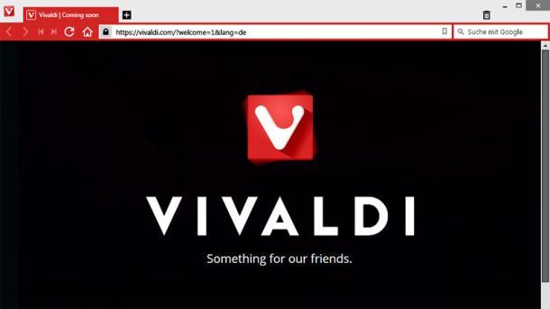 Guter Start für Vivaldi-Browser