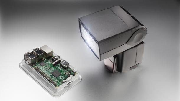 Xenongate: Kamera-Blitz schaltet Raspberry Pi 2 aus