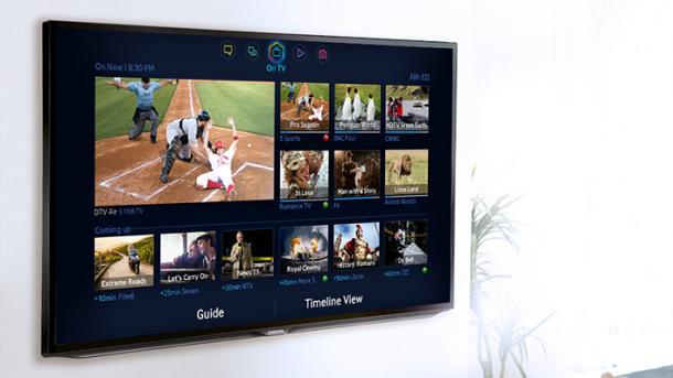 Samsung Smart-TVs blenden Werbung über abgespielte lokale Inhalte