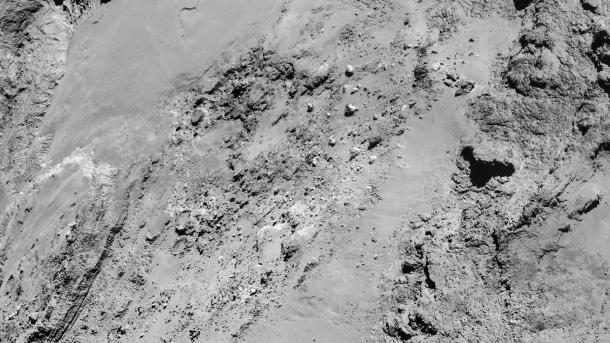 ESA-Sonde: Erste Bilder der Kometen-Annäherung