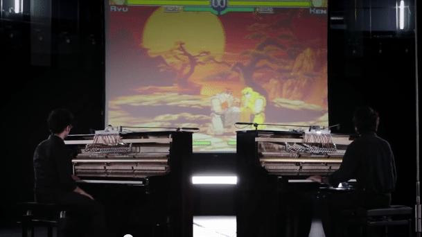Musikalischer Straßenkampf: Akustische Klaviere als Controller für Street Fighter eingesetzt