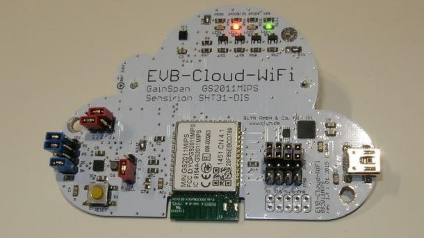 Embedded-World: Funksensoren für Cloud-Bastler
