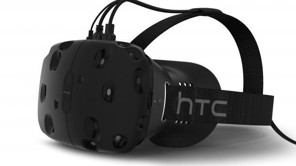 HTC und Valve bauen VR-Brille Vive