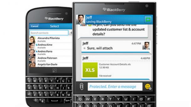 MWC: BlackBerry Messenger mit Wunschkennzeichen und ohne Werbung