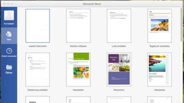 Mac-Office 2016 als Gratis-Vorschau zum Download verfügbar