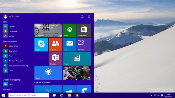 Neue Version von Windows 10 geleakt