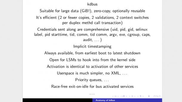 Weichen zur Aufnahme von Kdbus in Linux-Kernel 4.1 gestellt