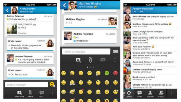 Blackberry aktiviert BBM-Protected-Modus auch für iOS und Android