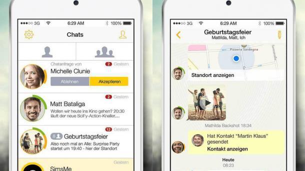 Post: Messenger SIMSme soll eine Million Downloads erreicht haben