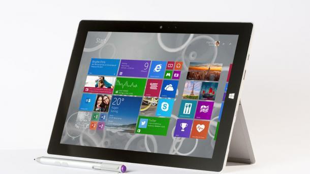 Microsoft Surface 3 ohne Pro und ohne RT