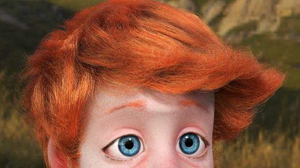 Die 3D-Software Blender 2.74 hat die Haare schön