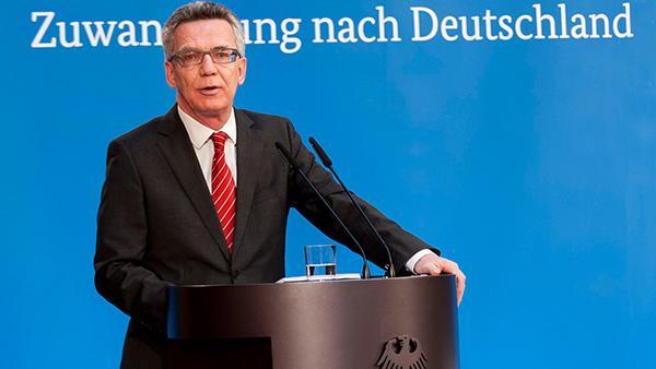 """De Maizière will """"Zuwanderungsmarketing"""" für Deutschland"""