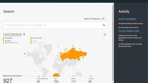 IBM stellt seine Security-Datenbank ins Netz
