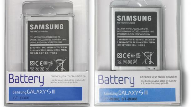 So erkennen Sie gefälschte Samsung-Akkus