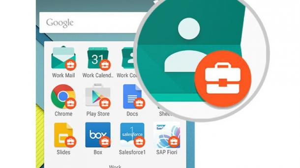 Android for Work isoliert und verwaltet Firmendaten