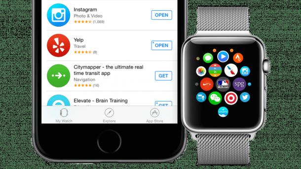 Apple startet App Store für Apple Watch