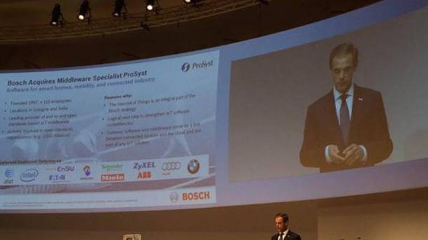 Bosch schließt Übernahme von ProSyst ab