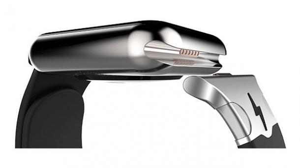 Versteckter Anschluss angeblich zum Laden der Apple Watch geeignet