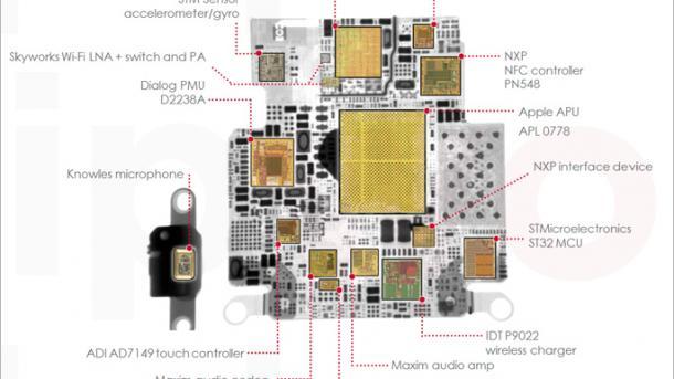 Apple Watch enthält Chip von Samsung