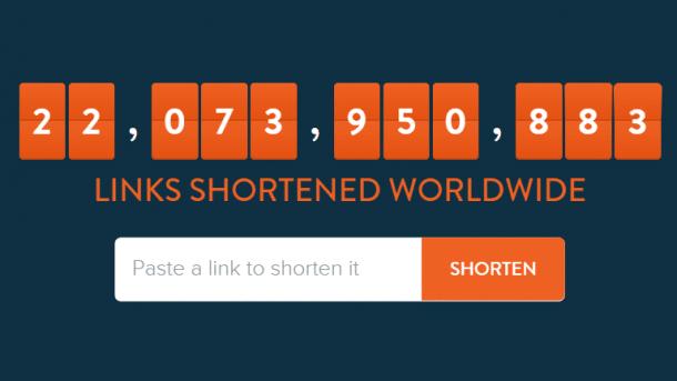 Linkverkürzer Bitly wandelt URLs in Werbelinks um