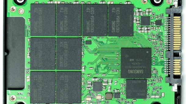 Samsung SSD 840 offen