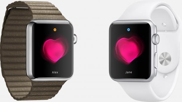 Apple Watch: Herzschlag teilen mit anderen Nutzern
