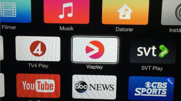 Mehr Sender für Apple TV