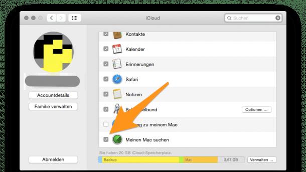 """Verwirrung um unbekannte Macs in """"Mein iPhone suchen"""""""